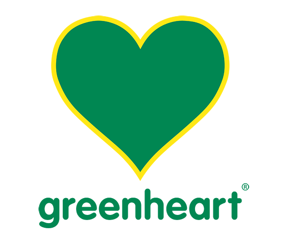 green heart international logo